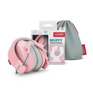 kids muffy pink set